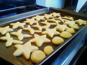 Sugar Cookies baked 2